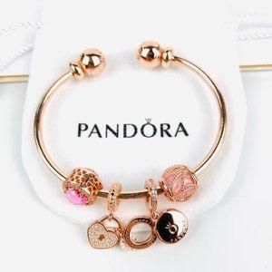 Pandora Rose 18k Gold Pendant Bracelets🌹